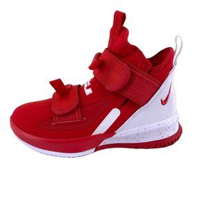 Nike Lebron Soldier 13 XIII SFG TB University Red High Top Sneakers Boys Size 5